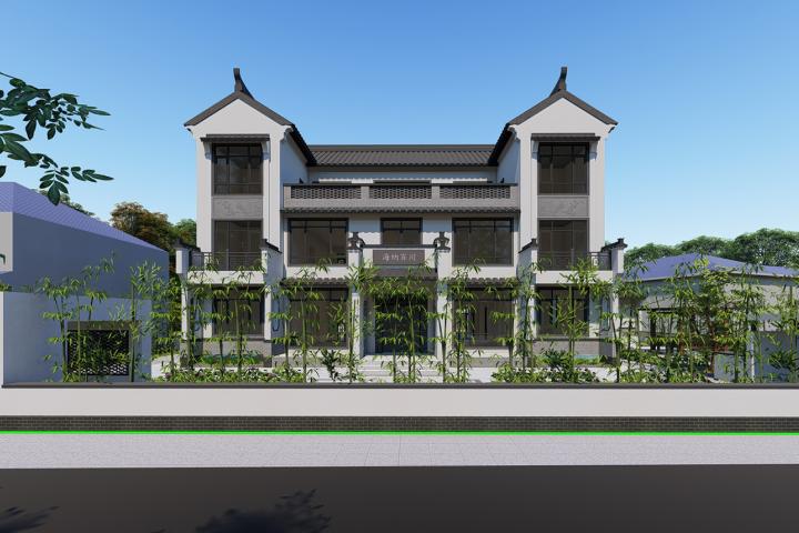 湖南长沙欧家中式别墅