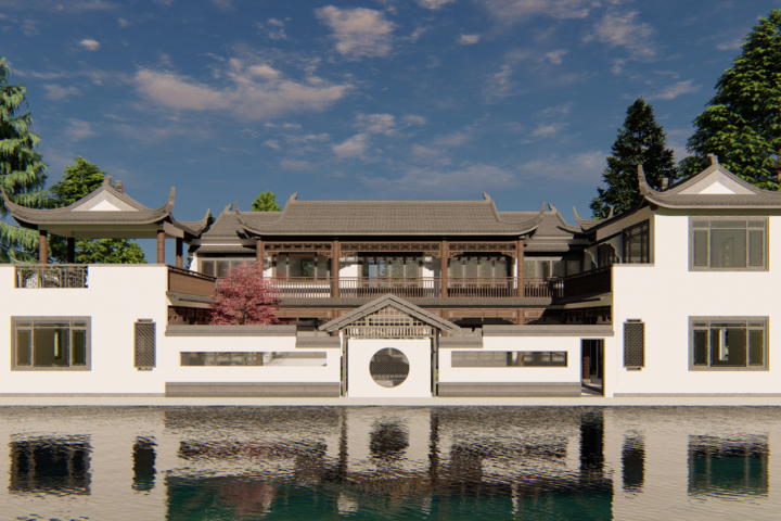 河南商丘王家中式三合院