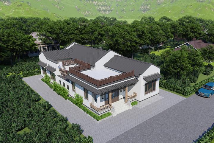 湖南张家界高家新中式别墅