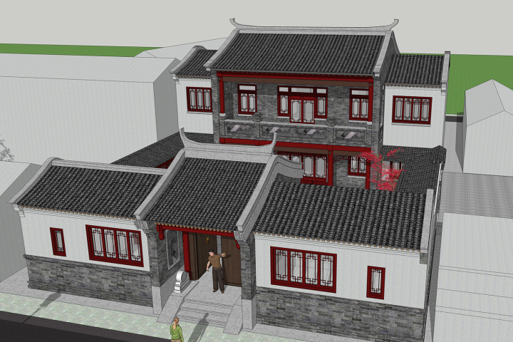 湖南邵阳段家中式宅院