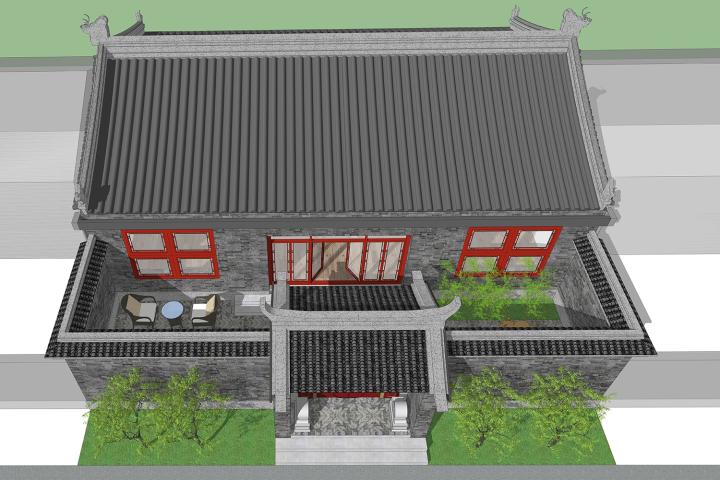 北京平谷赵家中式宅院