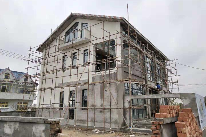 江苏启东张家现代别墅